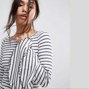 FREE PEOPLE Good Find Striped Top NWT